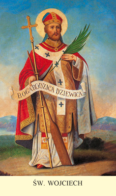 Znalezione obrazy dla zapytania św Wojciech